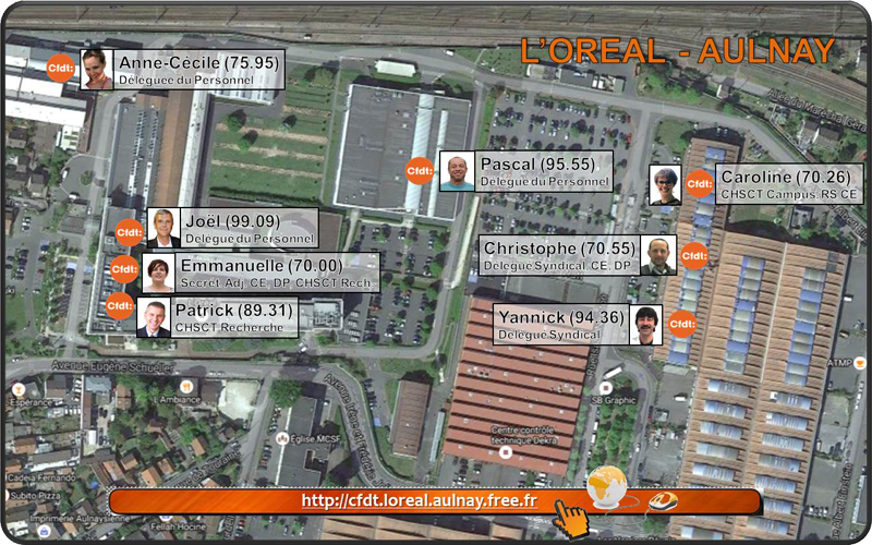 Cfdt l 39 oreal aulnay - Garage renault aulnay sous bois ...